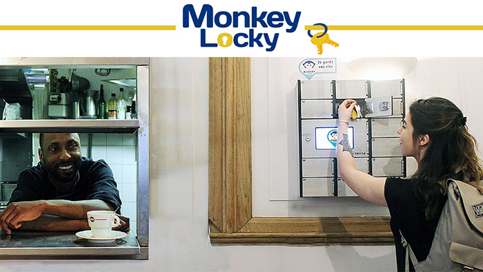 Monkey Locky, simplified key sharing