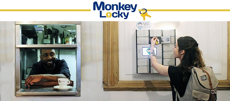 Monkey Locky, simplified key sharing