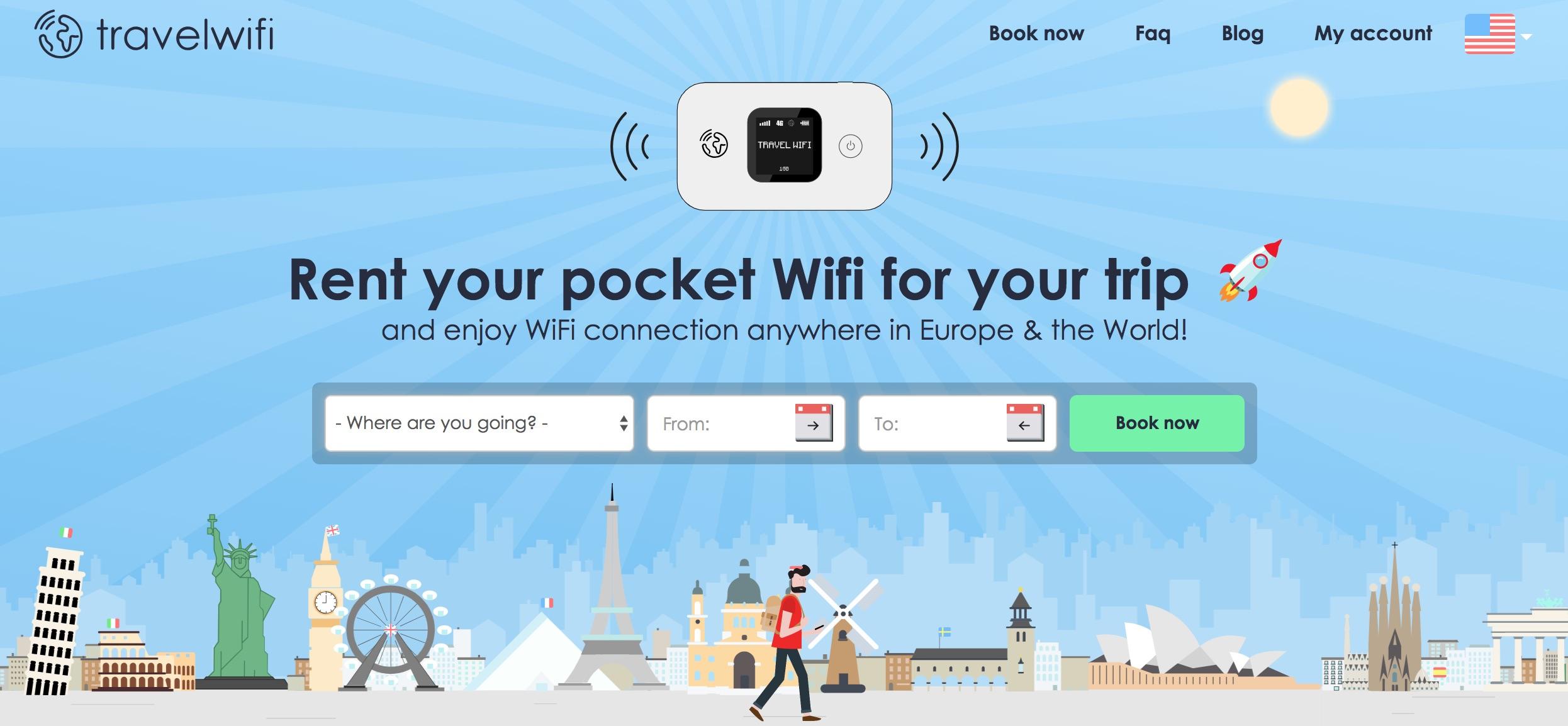 Travel wifi, premium pocket wifi rentals in Europe!