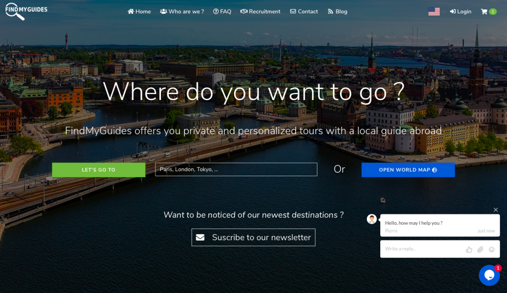 Find your private and local guide
