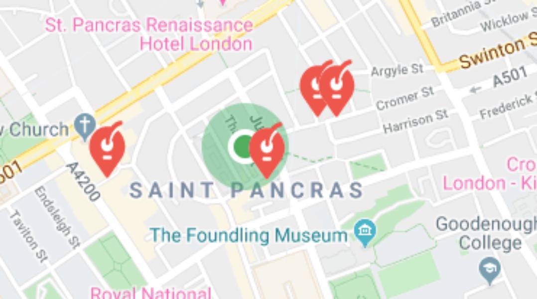 Consignes bagages Saint Pancras