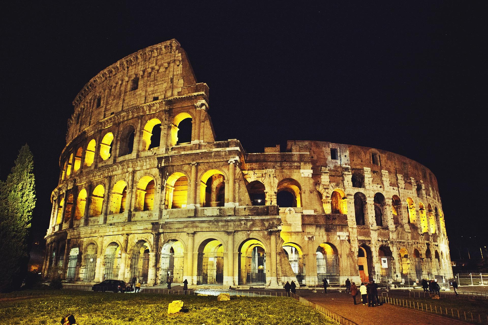 Le Colosseum, Rome