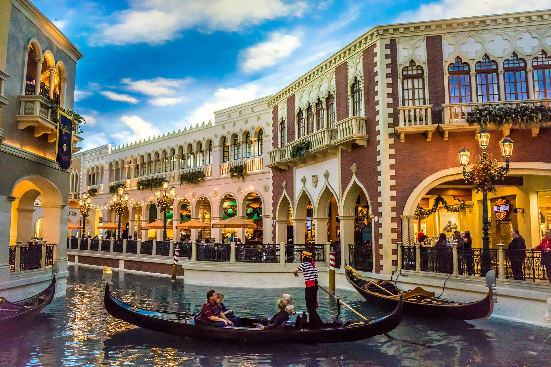Balade au Venetian