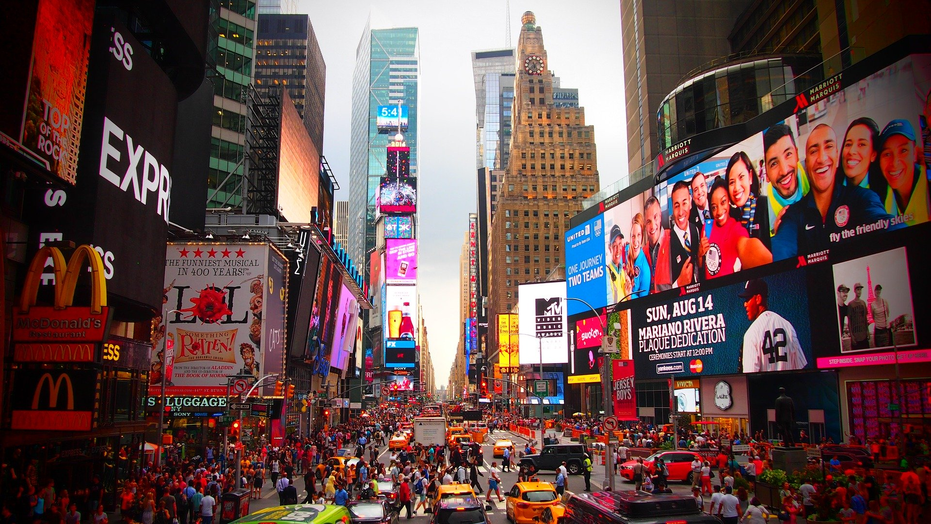 Consigne à bagage Times Square