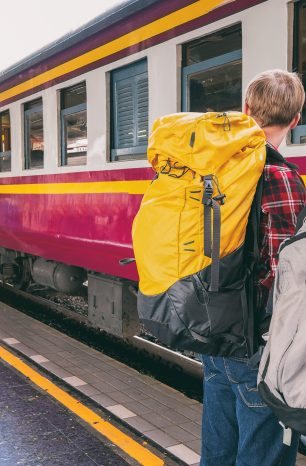 Why is there no longer left luggage in train stations?